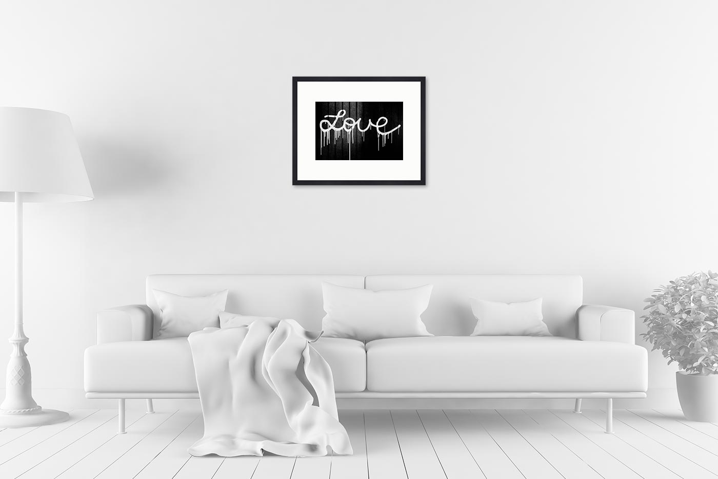 Cadre galerie 40x50 Love
