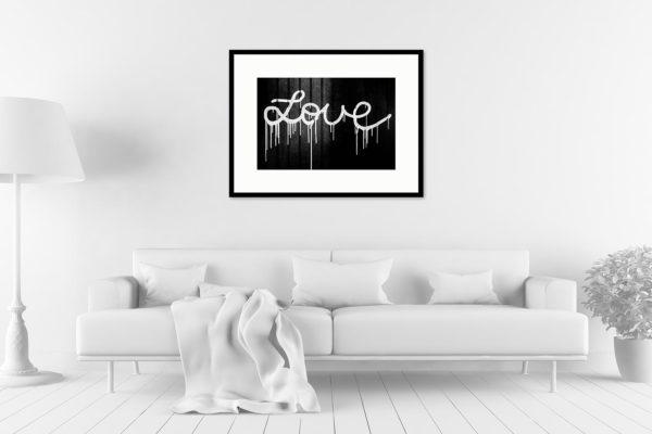 Cadre galerie 60x80 Love