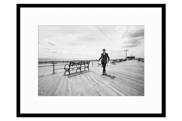 Cadre galerie Coney Island Man