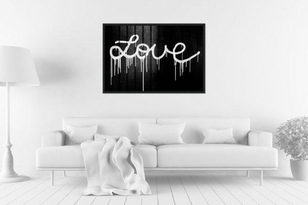 Caisse americaine 60x90 Love