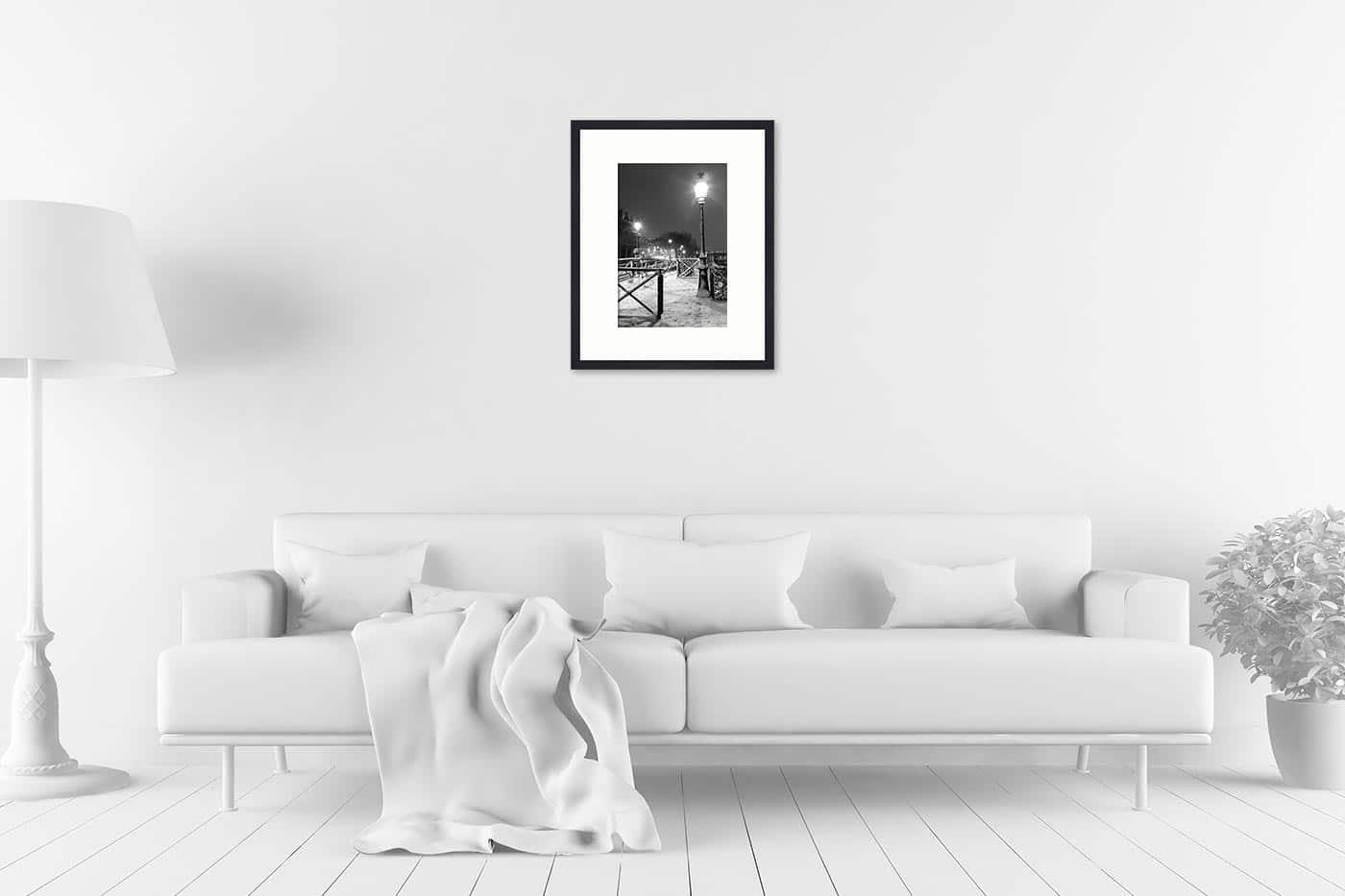 Cadre galerie 40x50 Light in Snow