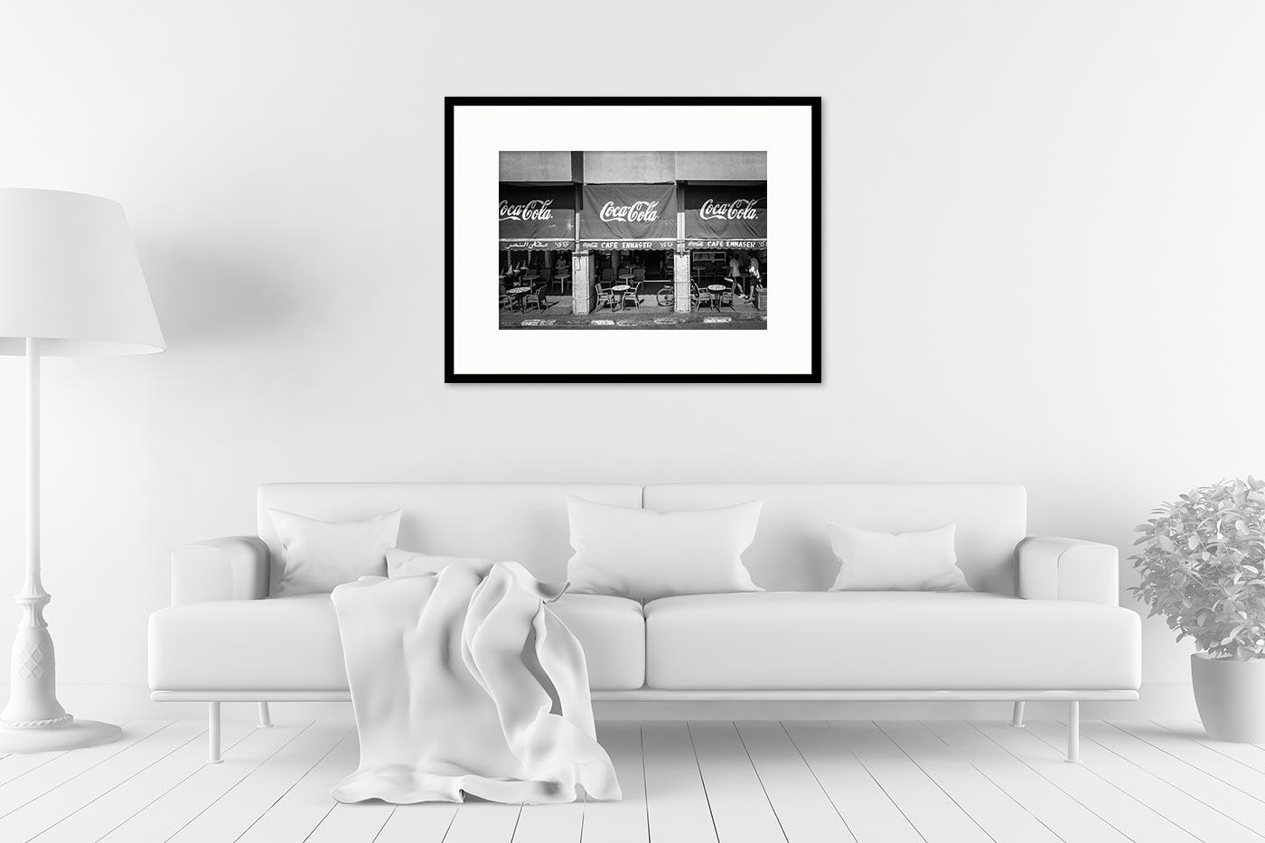 Cadre galerie 60x80 Cafe Ennaser