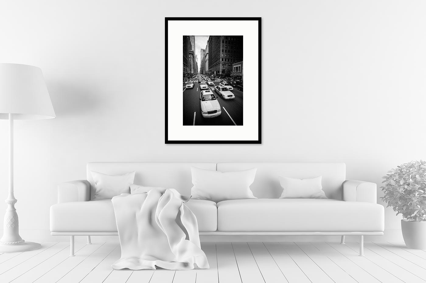 Cadre galerie 60x80 Hep Taxi !