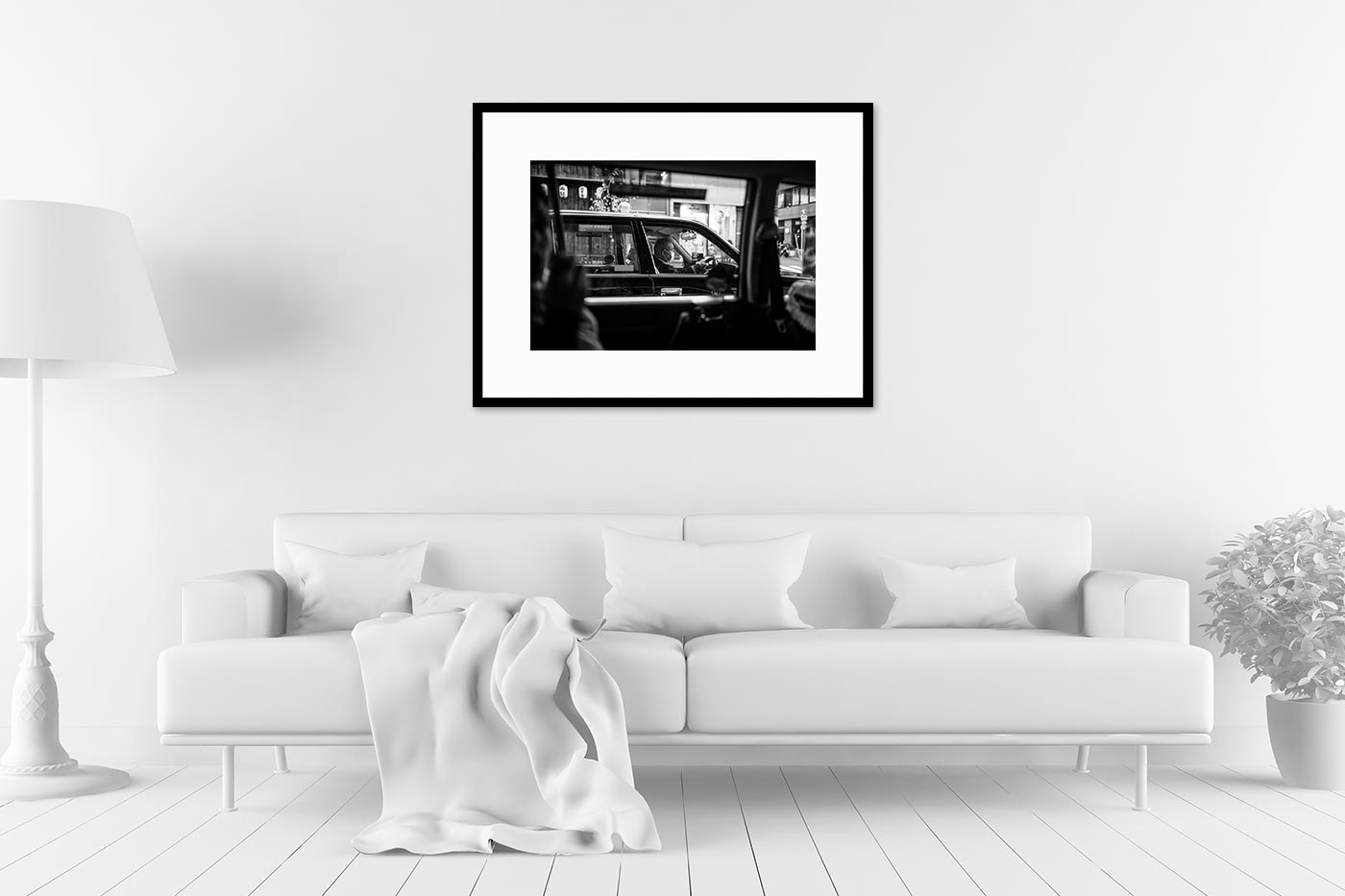 Cadre galerie 60x80 Taxi 3510
