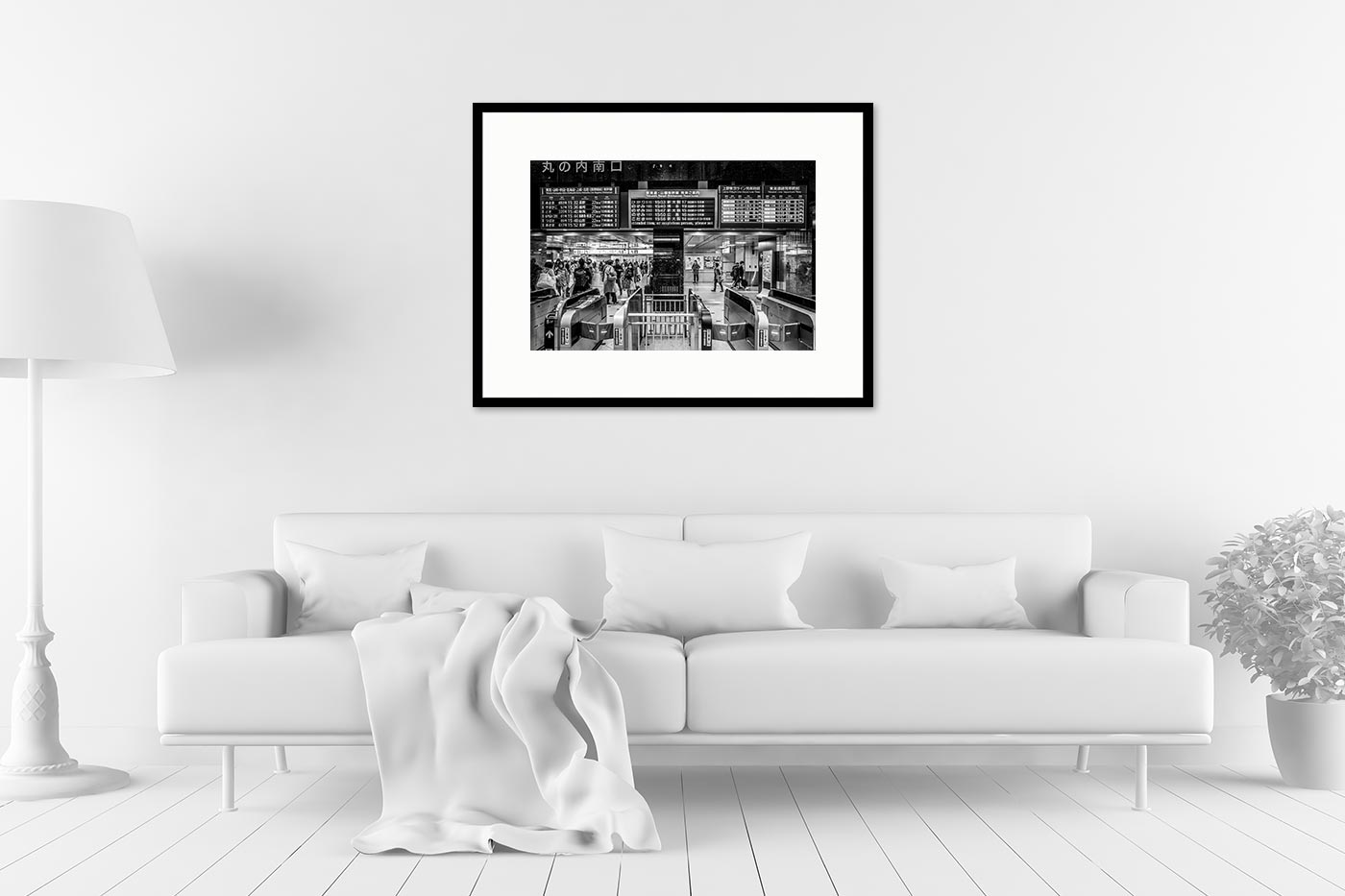 Cadre galerie 60x80 Tokyo Station