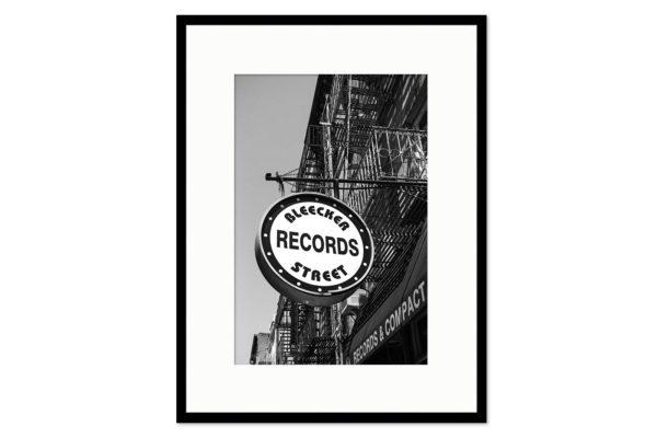 Cadre galerie Bleecker Records