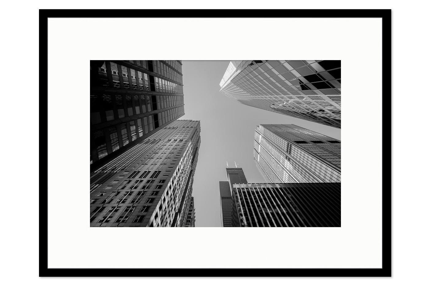 Cadre galerie Glass Buildings