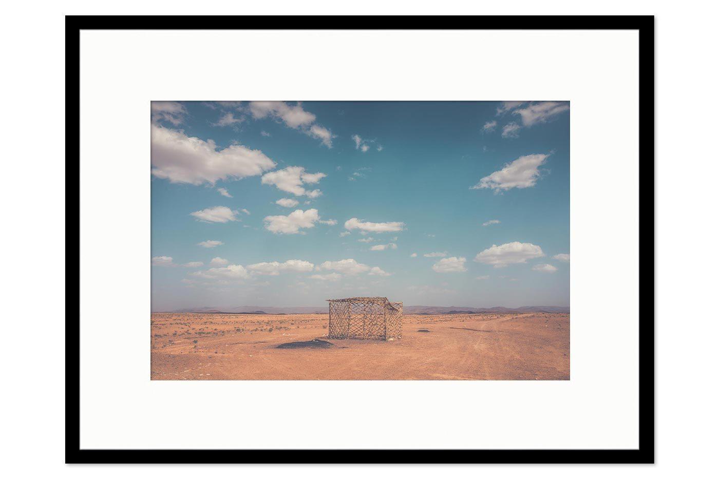 Cadre galerie The Hut
