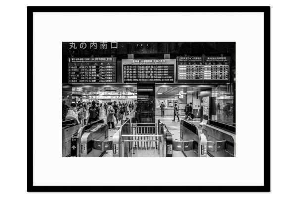 Cadre galerie Tokyo Station