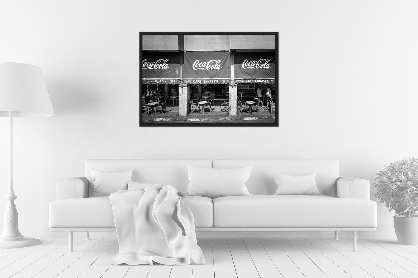 Caisse americaine 60x90 Cafe Ennaser