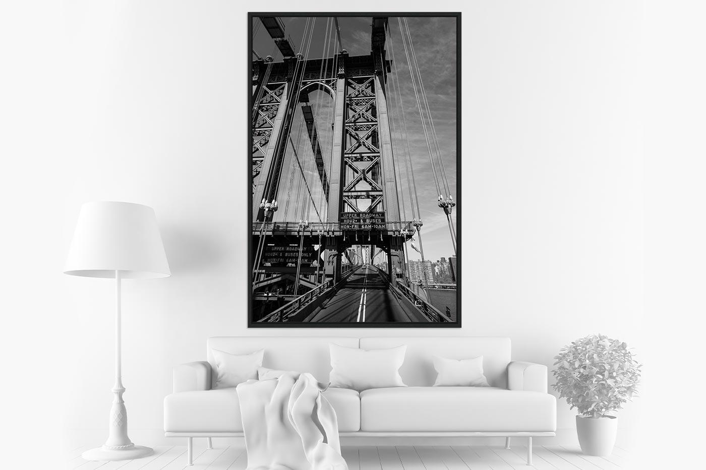 Caisse americaine 80x120 Brooklyn Bridge