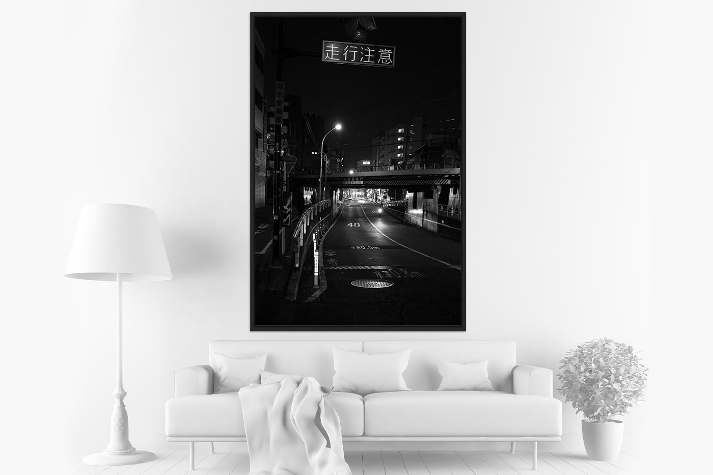 Caisse americaine 80x120 Midnight in Tokyo