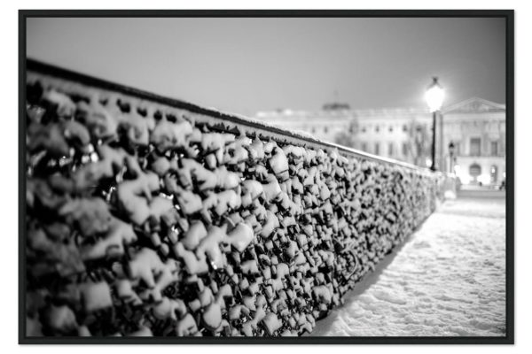 Caisse americaine Snowy Lovers' Bridge