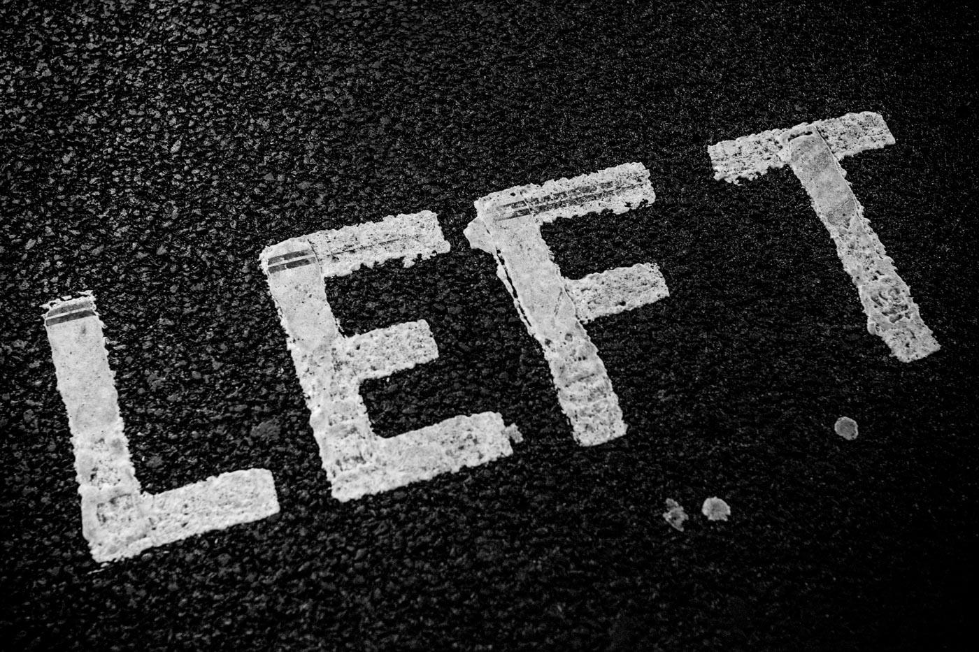 Left London