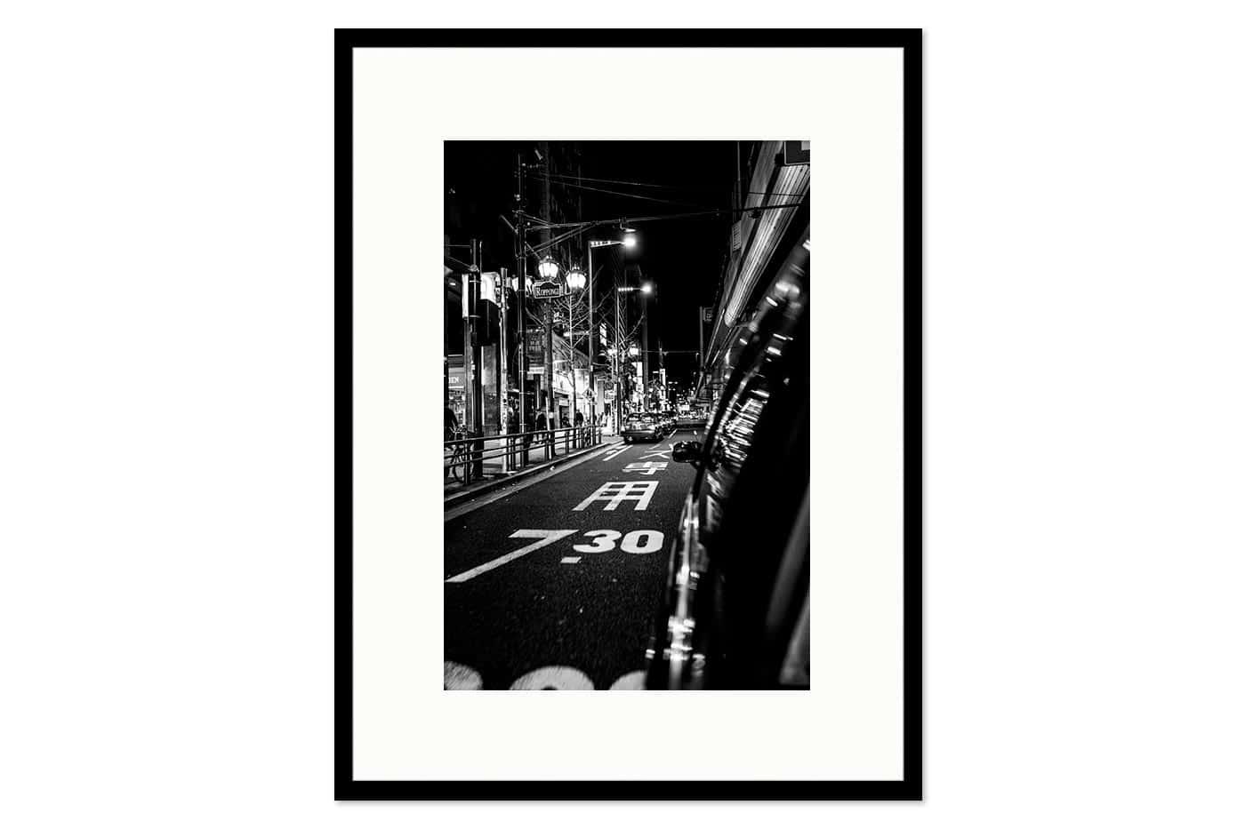Cadre galerie Roppongi Night