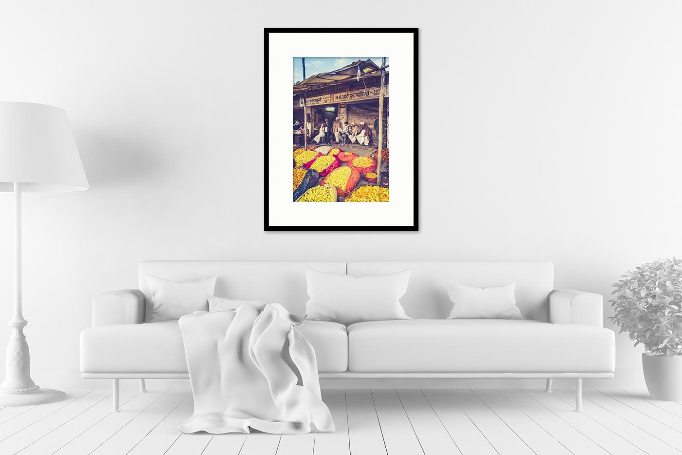 Cadre galerie 60x80 Flower market
