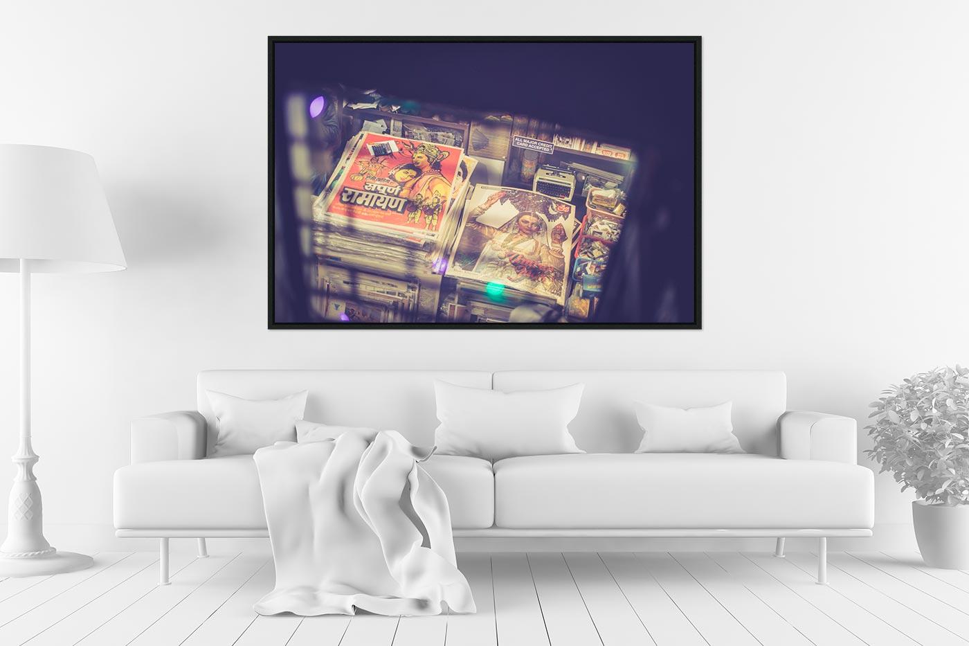 Caisse americaine 80x120 Bollywood