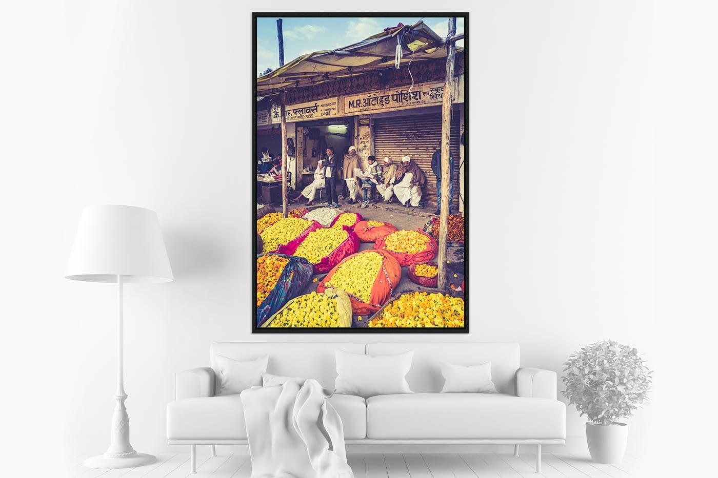 Caisse americaine 80x120 Flower market