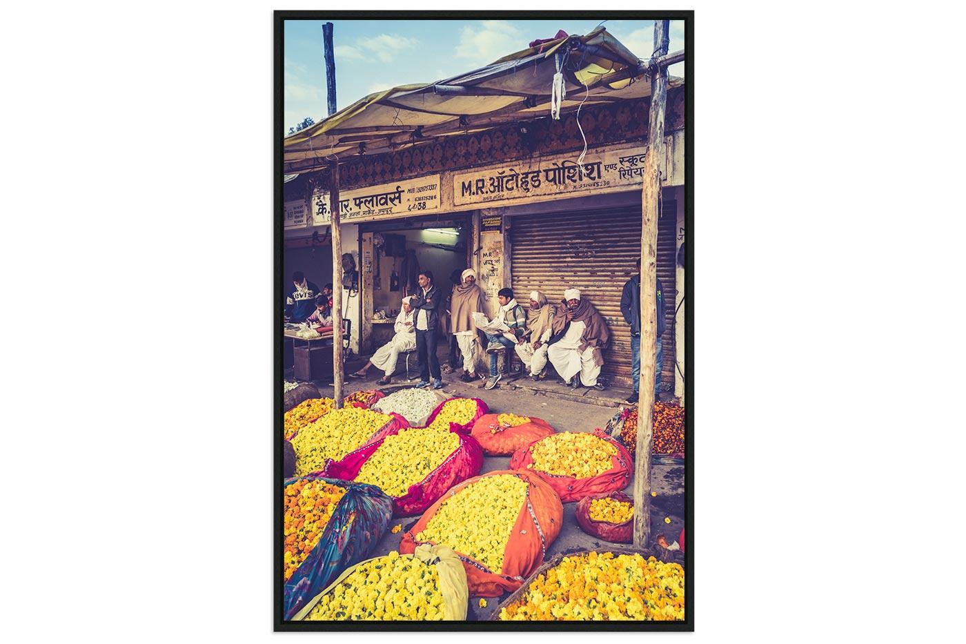 Caisse americaine Flower market