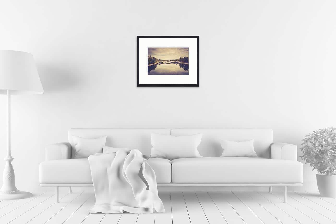 Cadre galerie 40x50 Paris 17H39