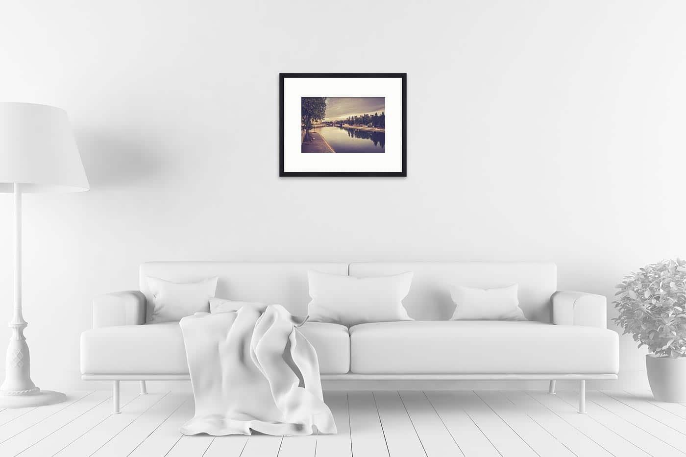 Cadre galerie 40x50 Paris 7H10