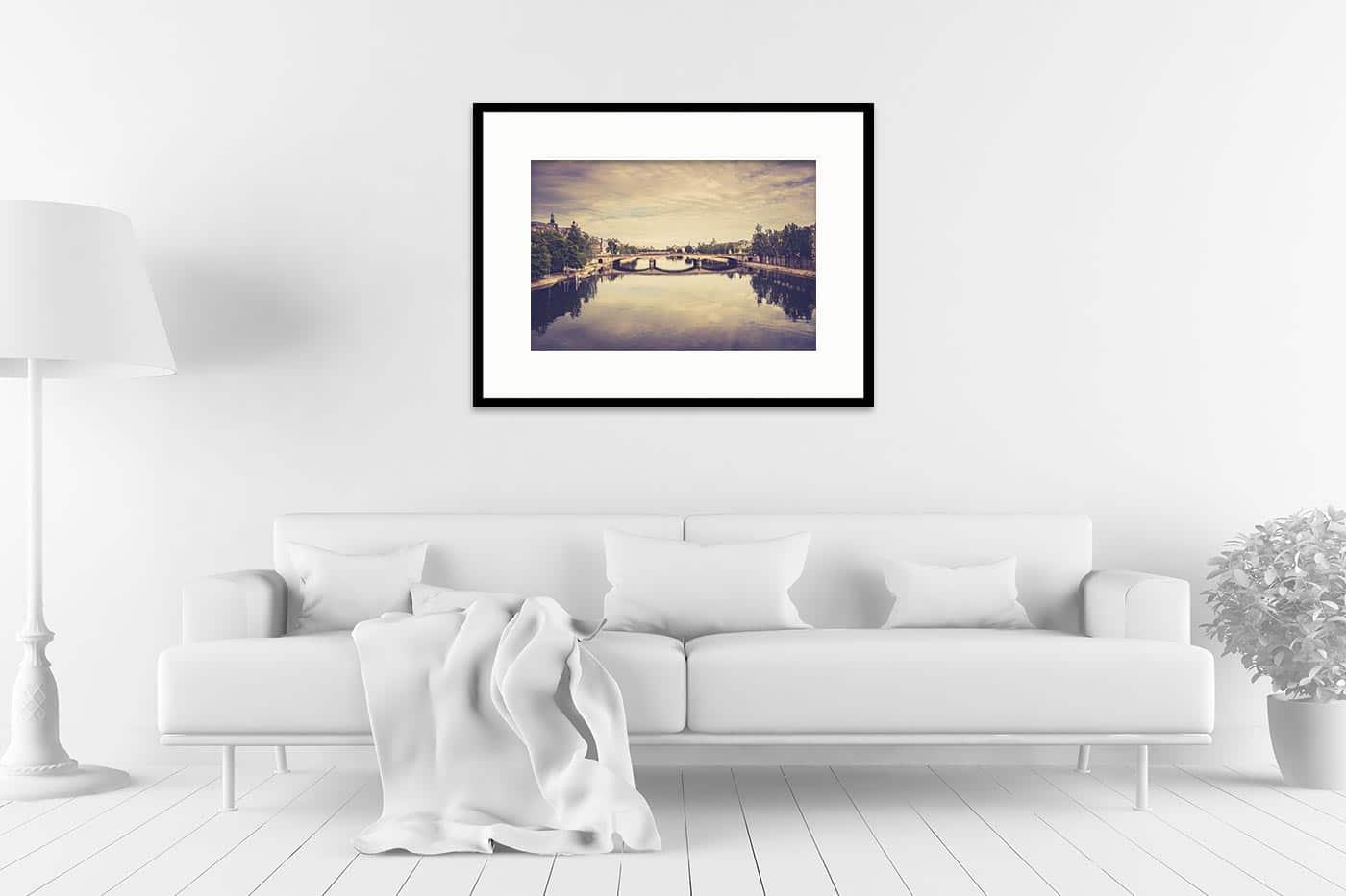 Cadre galerie 60x80 Paris 17H39