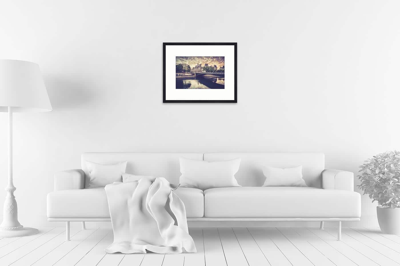 Cadre galerie 40x50 Paris 6H31