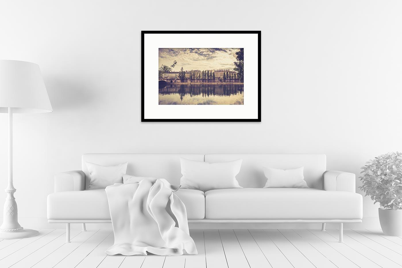 Cadre galerie 60x80 Paris 17H30