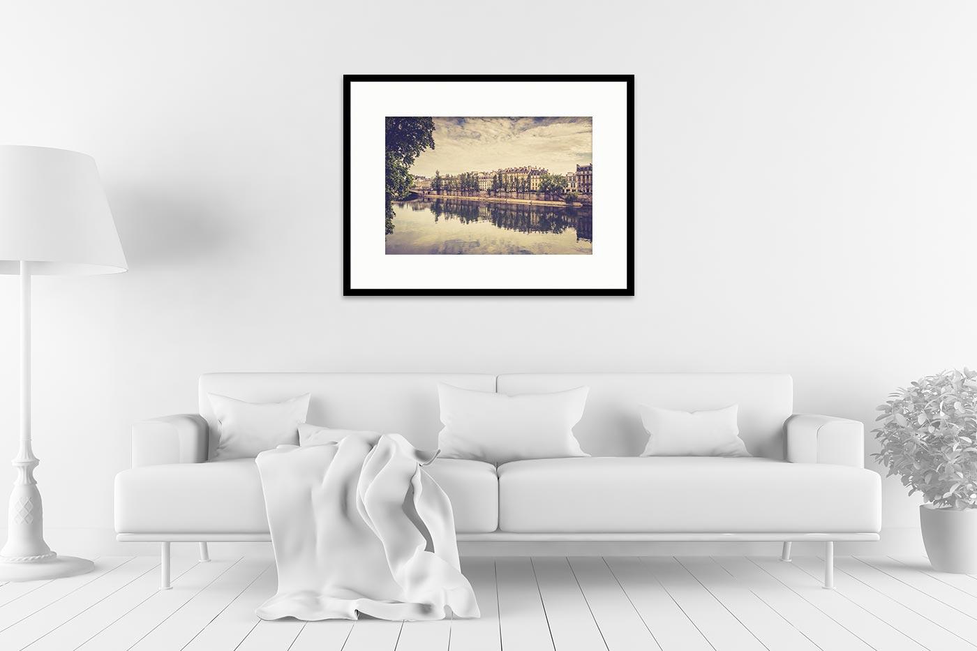 Cadre galerie 60x80 Paris 17H37